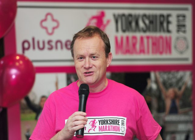 Mike Tomlinson, the husband of the late charity fundraiser Jane Tomlinson