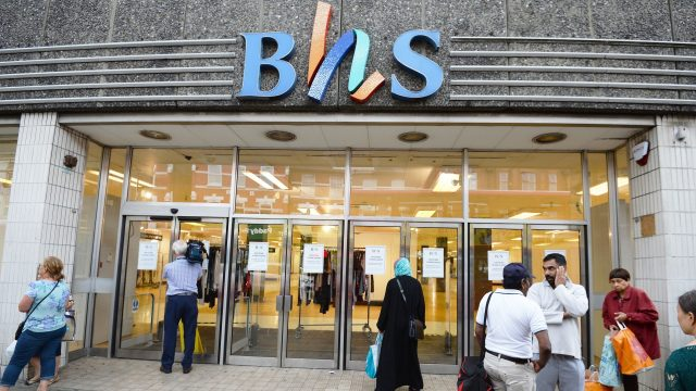 BHS was sold by Sir Philip Green for £1 in 2015, but plunged into administration the following year