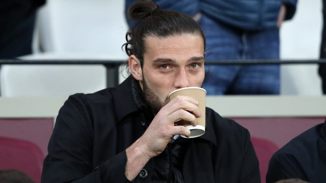Andy Carroll is yet to play for West Ham this season because of injury