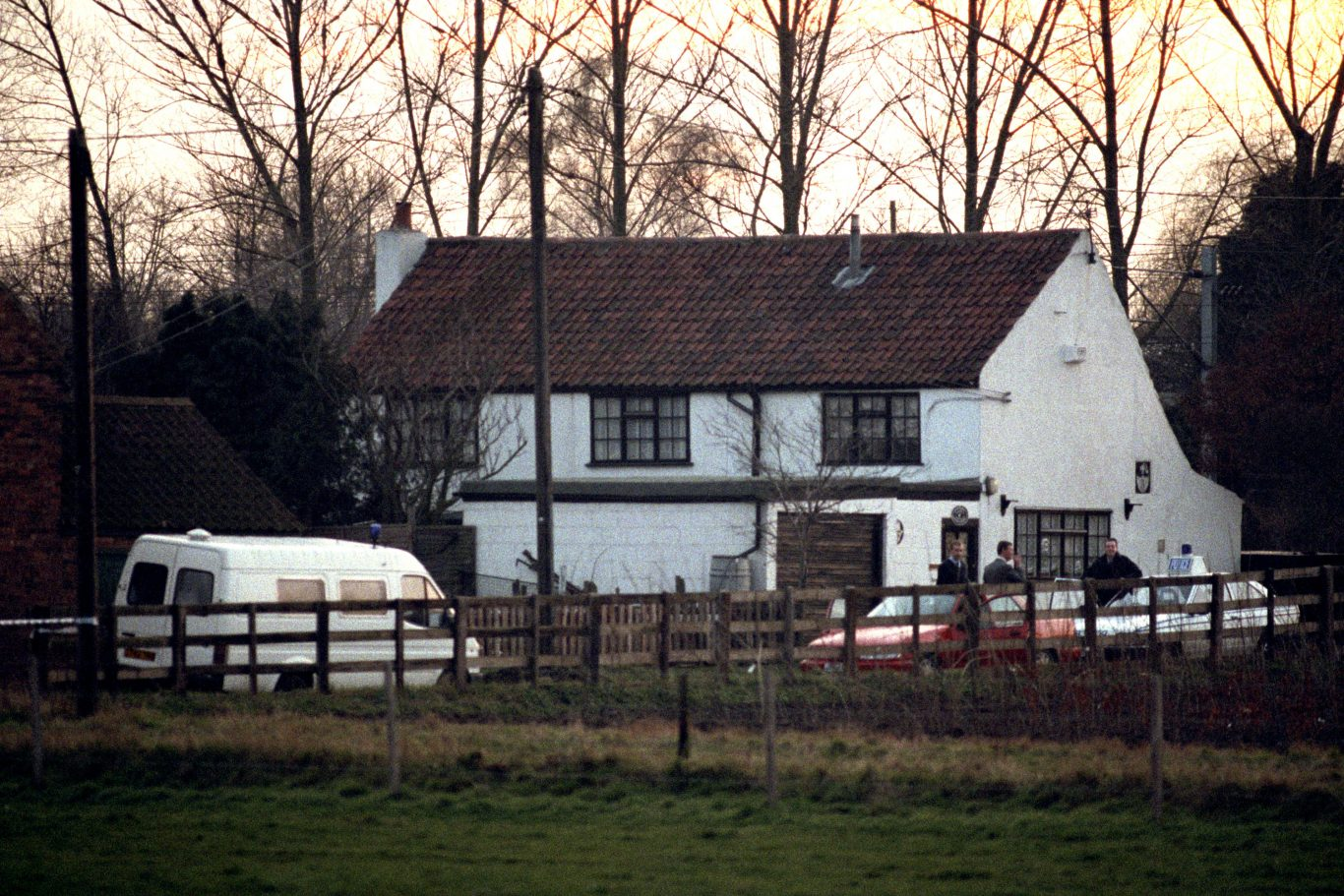 Michael Sams' house in Stuton on Trent (Claire Mackintosh/EMPICS)