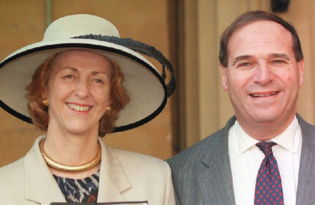 Lord and Lady Brittan. (Martin Keene/PA)