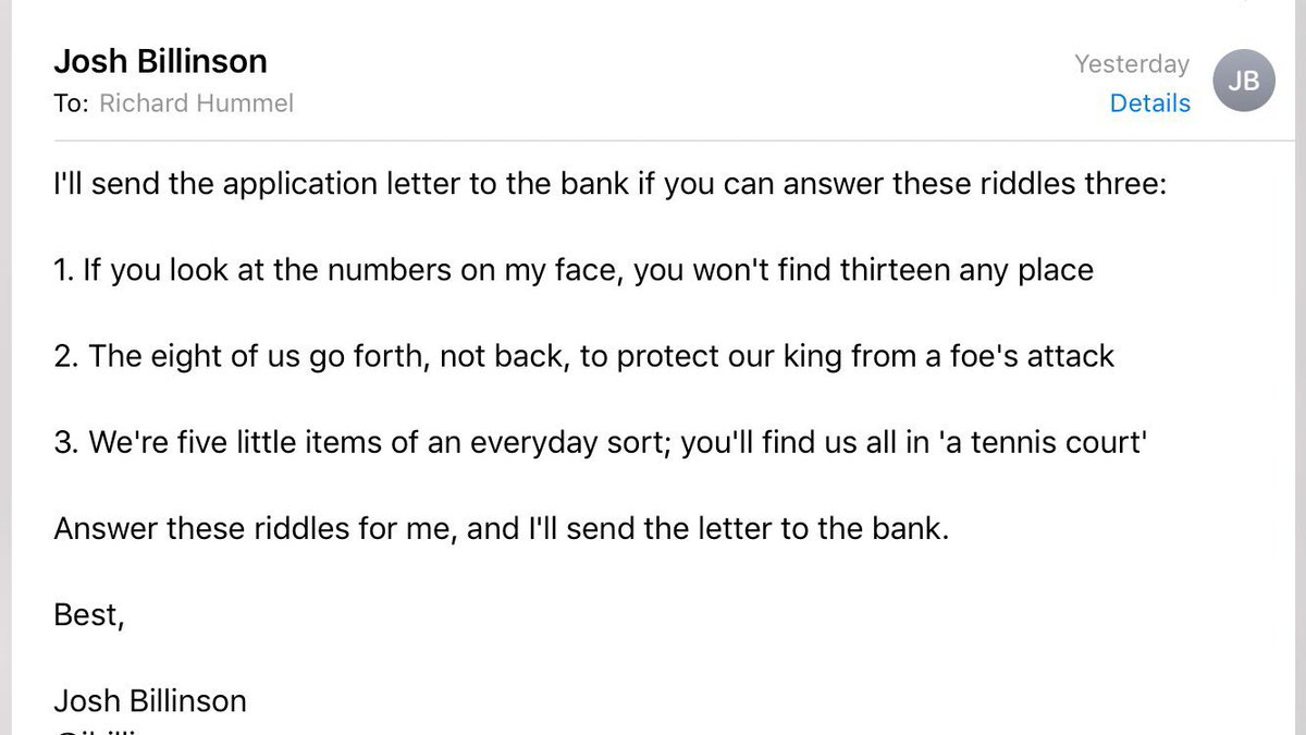 This Guy Used Matt Damon And Riddles To Mess With An Email Scammer