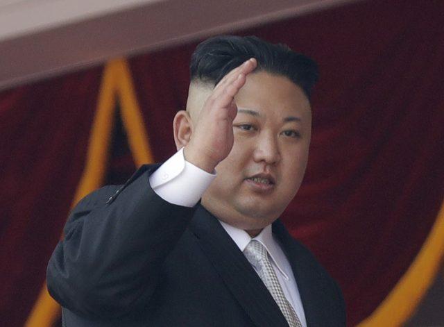 North Korean leader Kim Jong Un. (Wong Maye-E/AP)