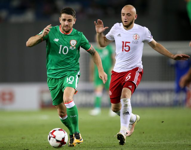 Georgia vs Republic of Ireland World Cup Qualifying UEFA