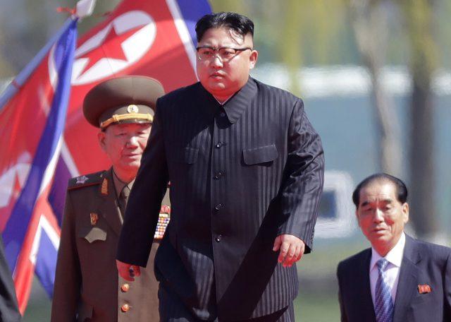 North Korean leader Kim Jong Un. (AP)