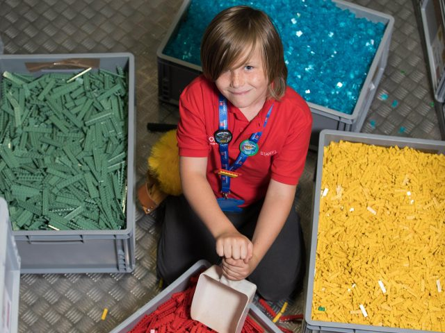 Stanley said his time at Legoland was 'awesome'