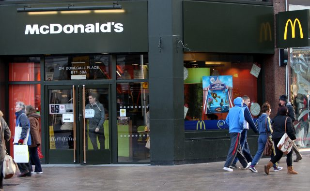 McDonald's (Paul Faith/PA)