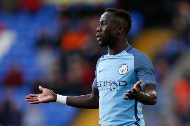 Bacary Sagna was released by Manchester City