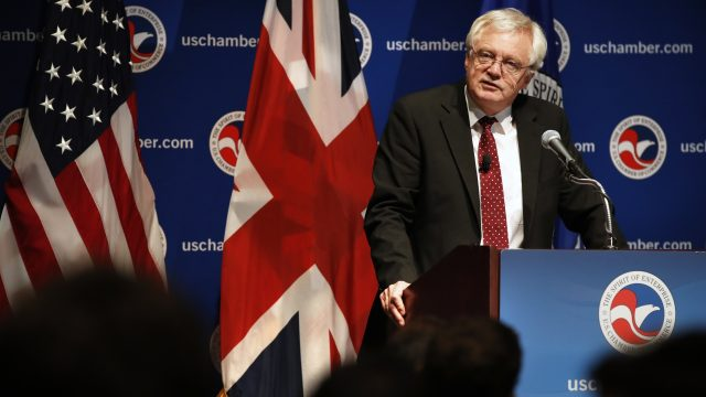 Brexit Secretary David Davis is negotiating the UK's exit from the European Union