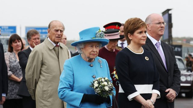 Her Majesty's back to open 'breathtaking' Queensferry bridge