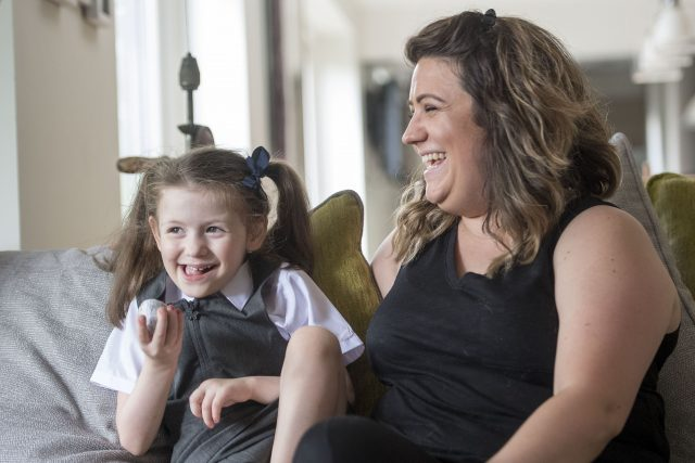 Nicole Doherty didn't know if her daughter Evie would ever leave hospital