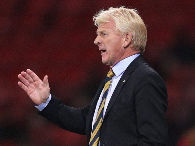 Scotland manager Gordon Strachan during the 2018 FIFA World Cup Qualifying match with Malta