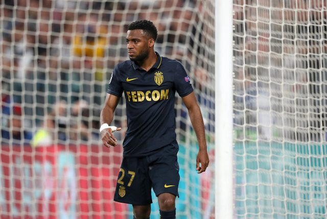 Thomas Lemar in action for Monaco