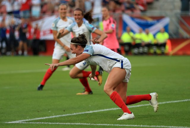 Jodie Taylor was the Euro 2017 Golden Boot winner (Mike Egerton/PA)
