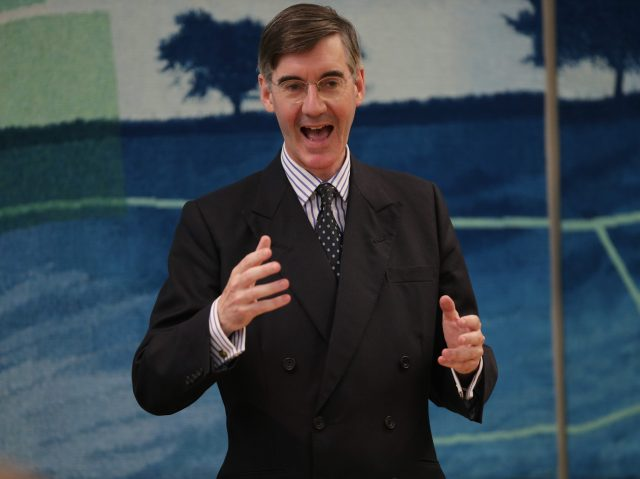 Jacob Rees-Mogg tops Tory poll on next party leader
