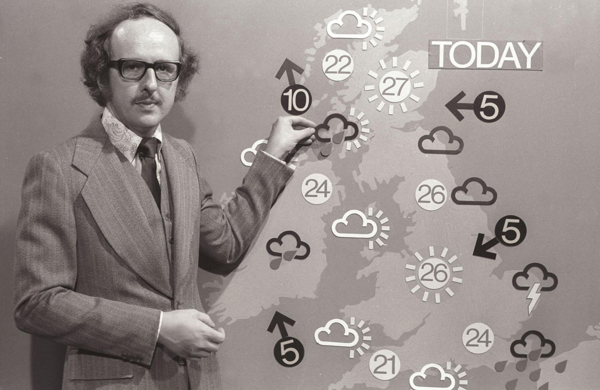 Weatherman Michael Fish (BBC)