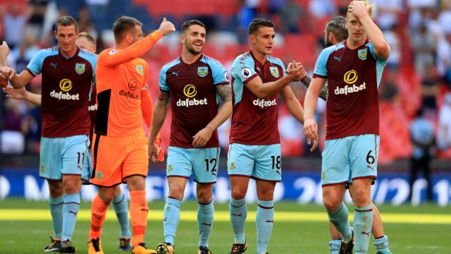 Burnley are one of nine Premier League clubs to be sponsored by a betting firm