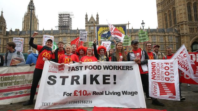 McDonald's staff voted overwhelmingly in favour of industrial action, amid concerns over working conditions
