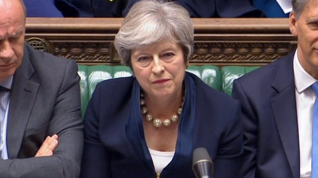 Theresa May said she would consider updating the current legislation