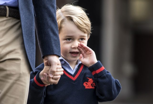 Prince George will be in  class of 21 in one of three reception classes