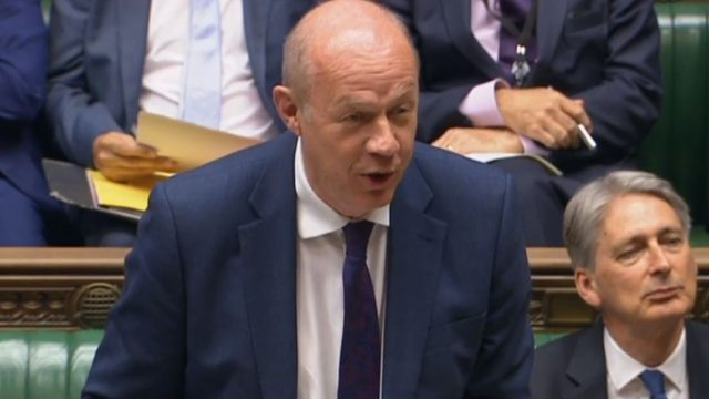 Damian Green is the First Secretary of State