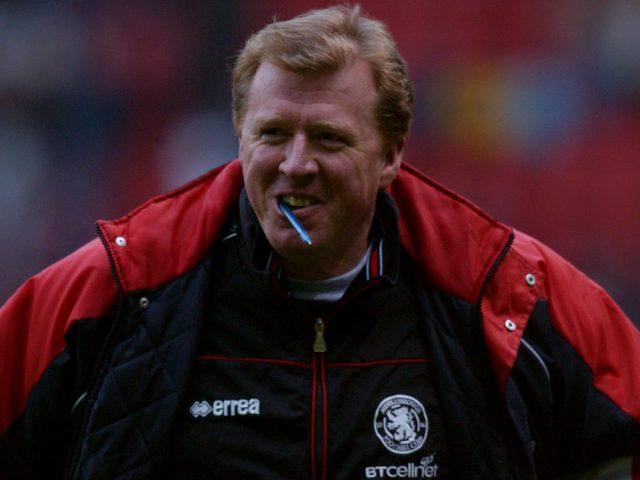 Steve McClaren managed to keep Middlesbrough up despite their poor start (Neal Simpson/Empics)