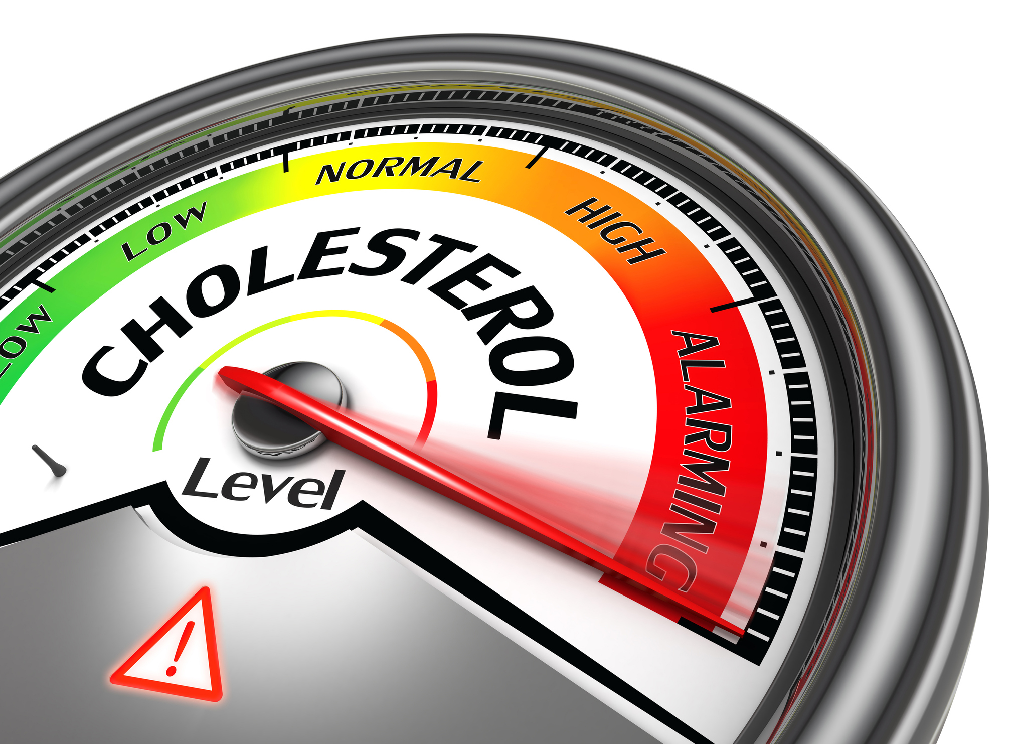 Cholesterol illustration.
