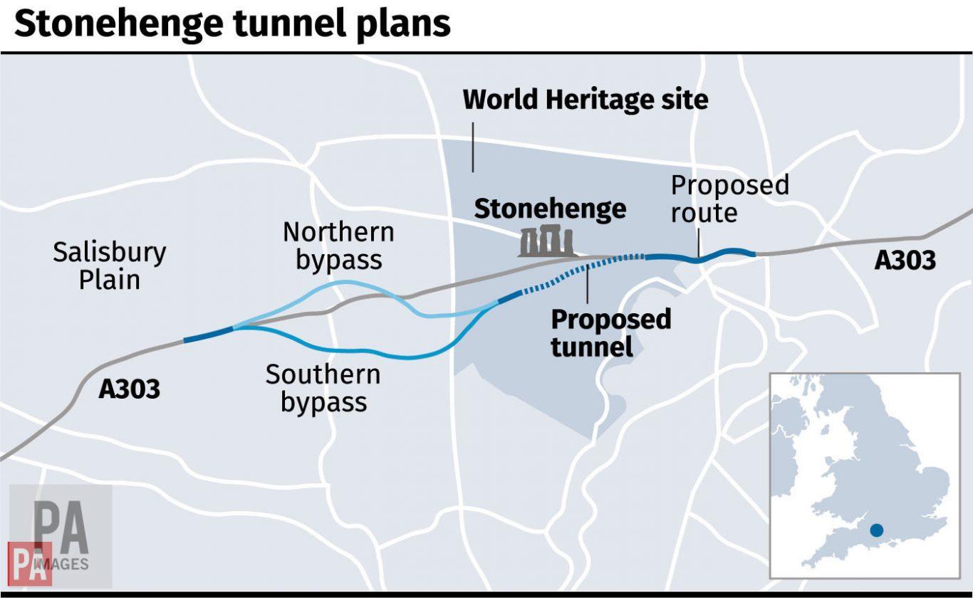 Stonehenge tunnel plans