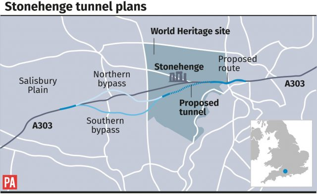 Stonehenge tunnel plans