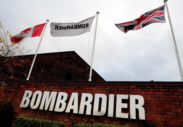The Bombardier main entrance at Derby