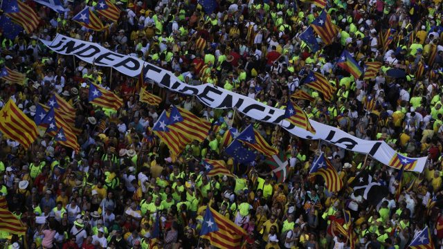 Catalan leaders say they will go ahead with the October 1 ballot anyway