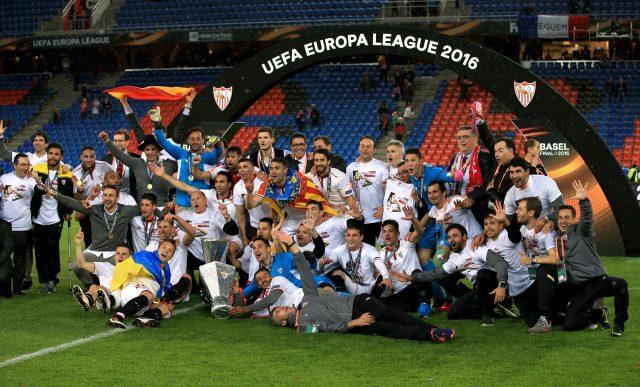 Sevilla beat Liverpool in the 2016 Europa League final (John Walton/EMPICS)