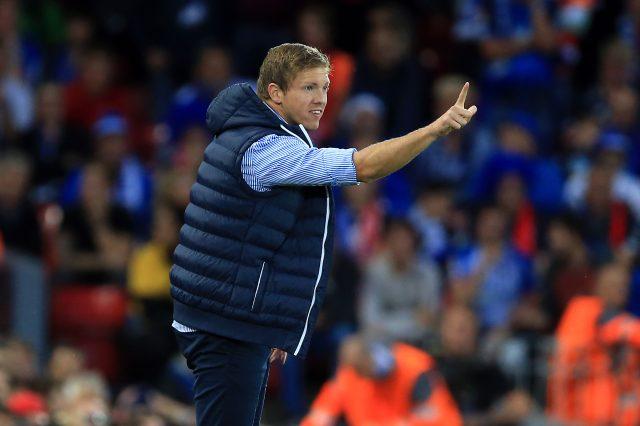 Hoffenheim boss Julian Nagelsmann