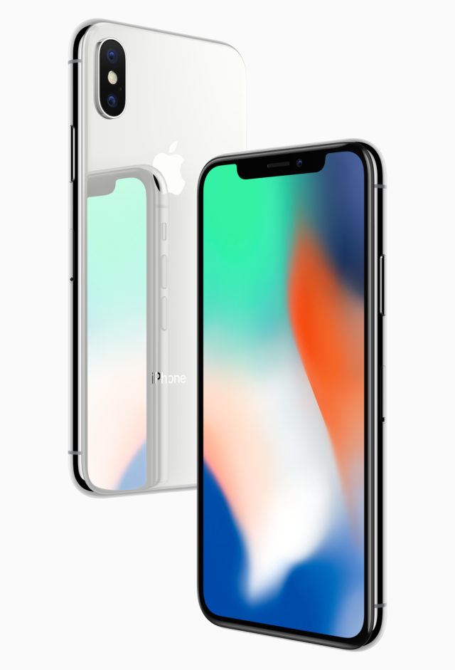 Undated handout photo issued by Apple of the new iPhone X, which is the most expensive phone the tech giant has ever made.
