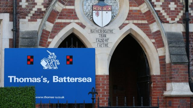 Scotland Yard said it was working with Thomas's Battersea to examine security arrangements following the scare