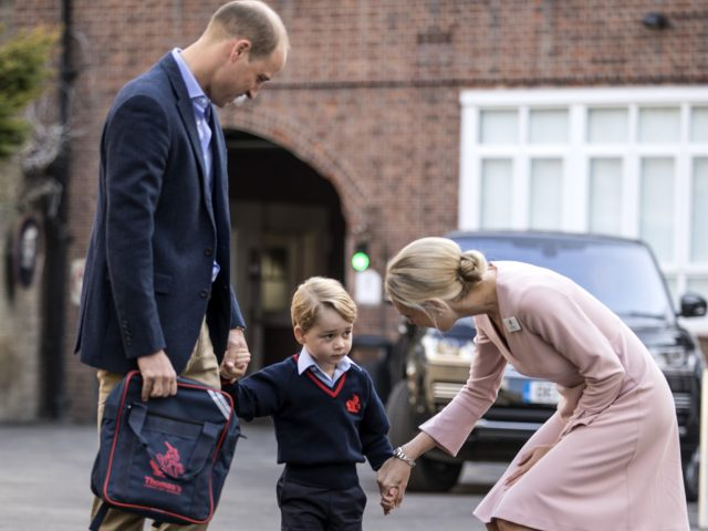 Prince George started school on September 7