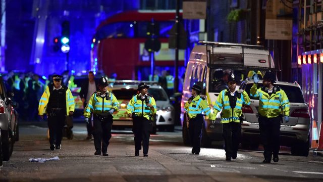 21 people were arrested after the attack on London Bridge in June