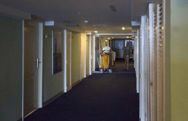 The Hotel Capri has recently been renovated. (Desmond Boylan/AP)