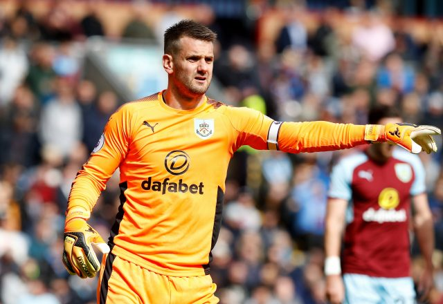 Tom Heaton will be sidelined for several months