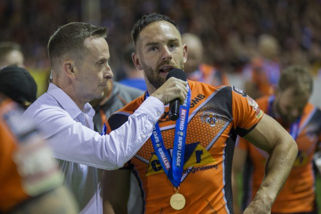 Luke Gale is recovering following an emergency appendectomy (Craig Milner/PA Wire)