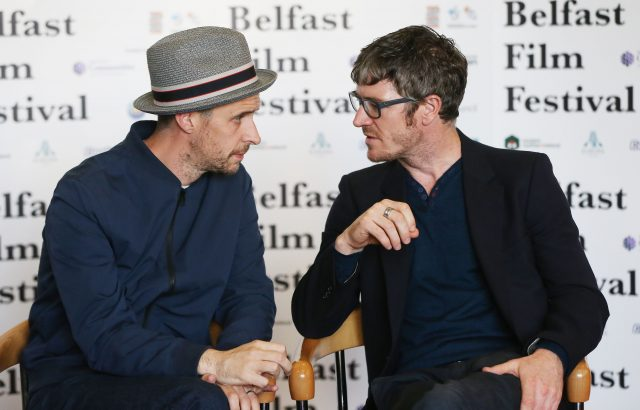 Maze stars Tom Vaughan-Lawlor and Barry Ward (Niall Carson/PA)