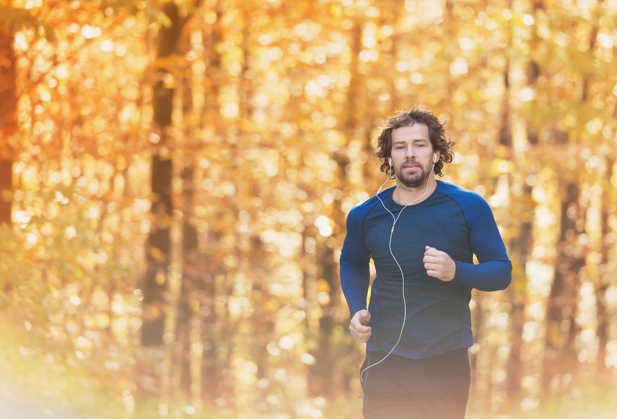 Generic photo of man running with headphones on (Thinkstock/PA)