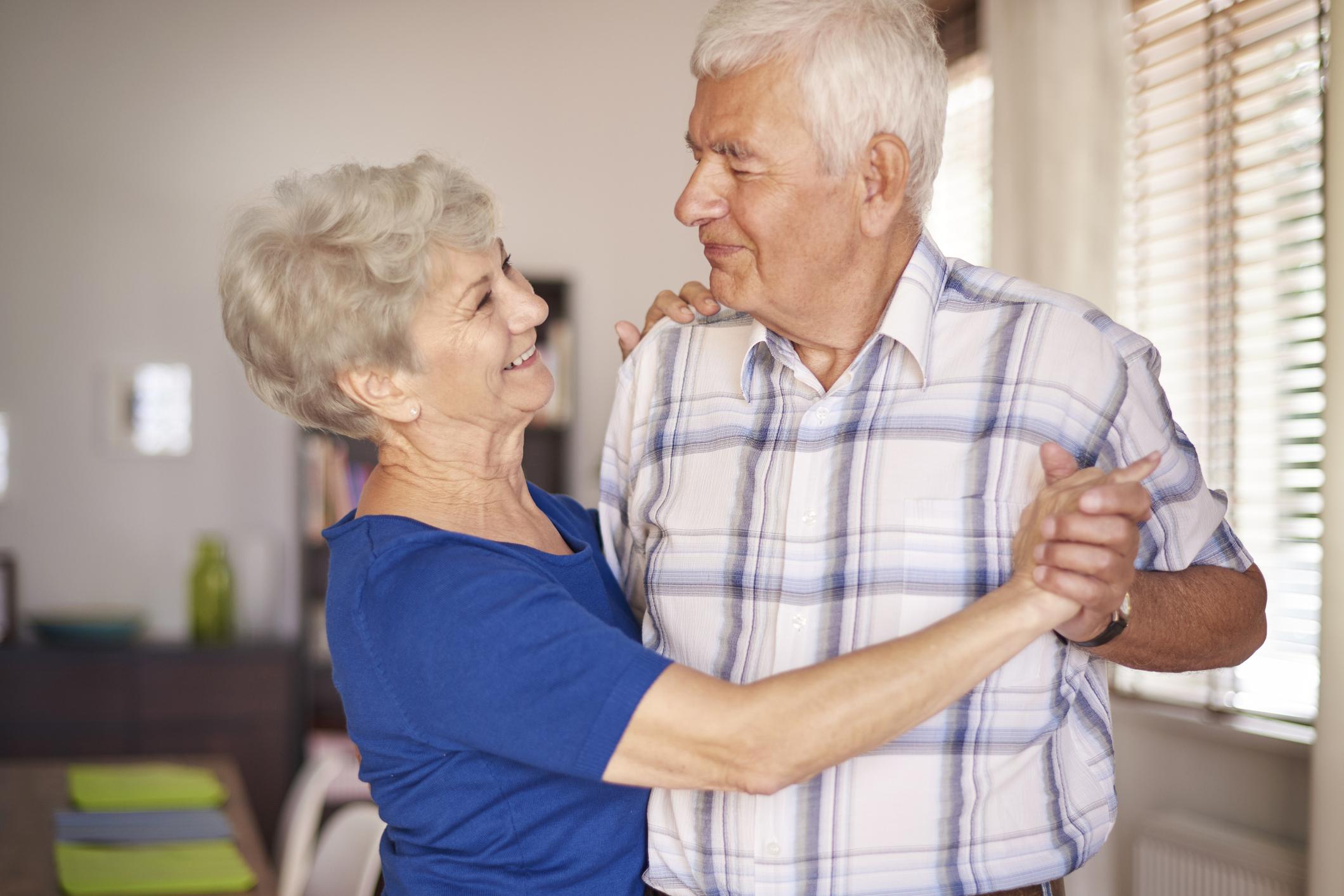 Generic photo of elderly couple dancing (Thinkstock/PA)