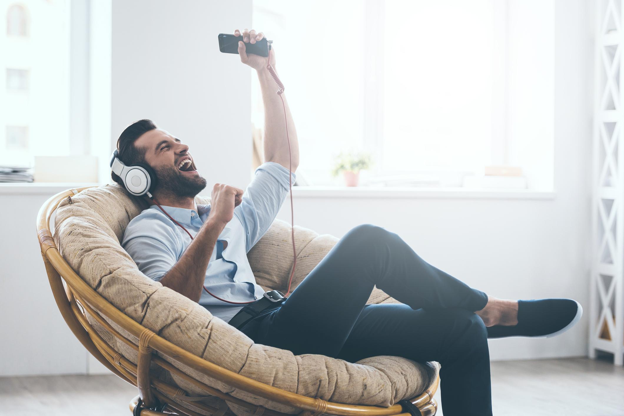 Generic photo of man listening to music (Thinkstock/PA)