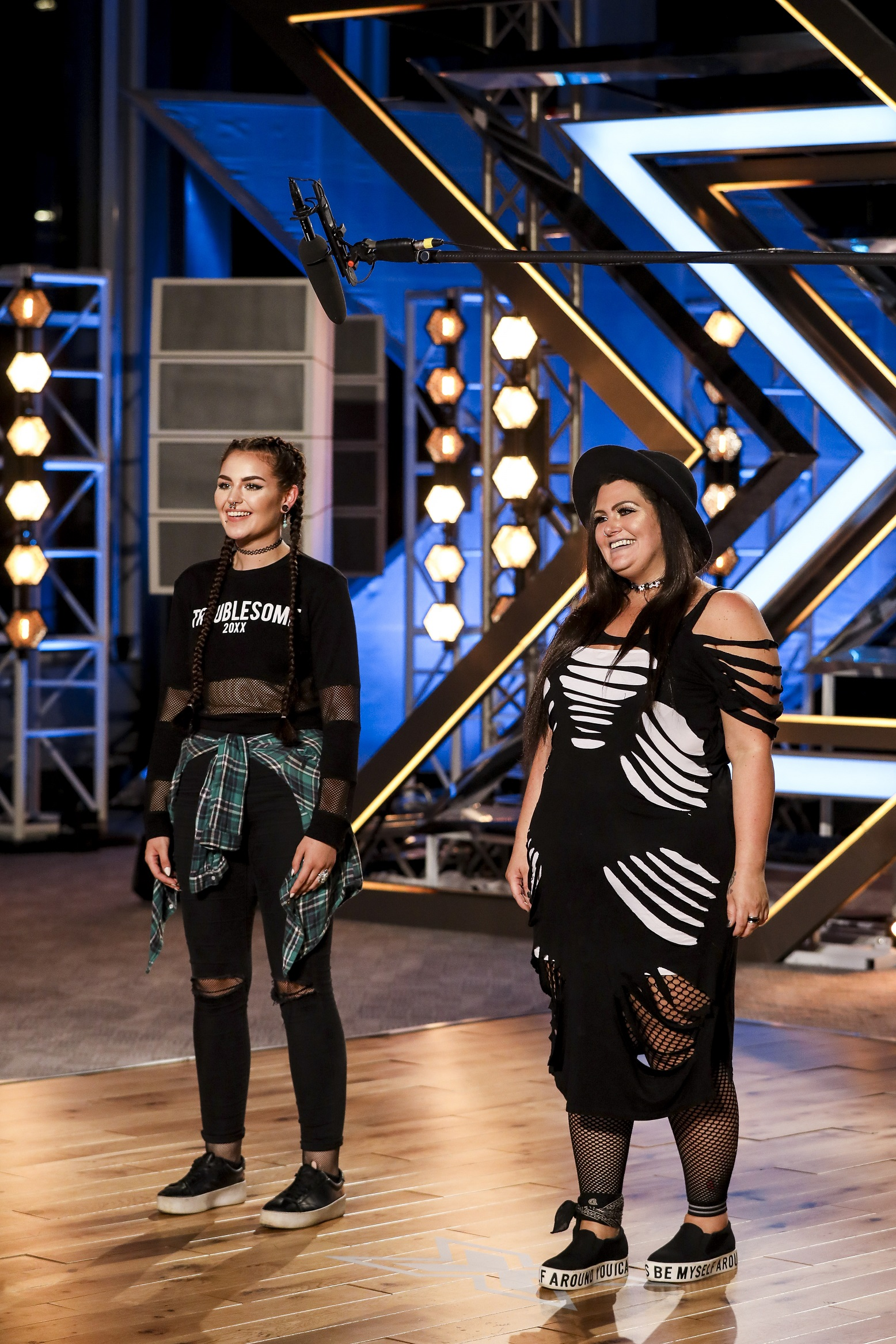 Descendance on The X Factor
