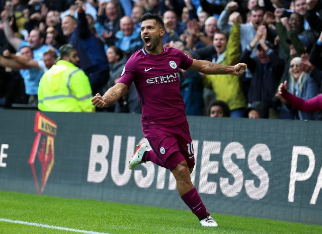 Image result for aguero celebration 2017 away