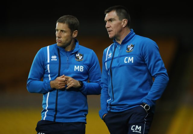 Michael Brown and Chris Morgan
