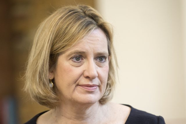 Home Secretary Amber Rudd. (Victoria Jones/PA
