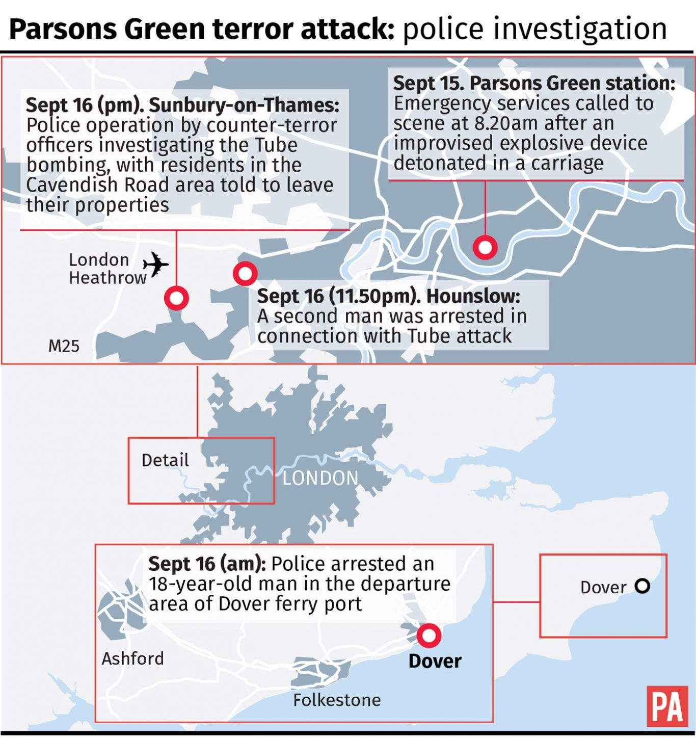 Terror on London Tube: One of two suspects identified
