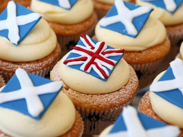 Independence cupcakes